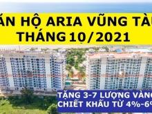 Căn Góc 3PN 160m2 Aria Vũng Tàu, Tầng 5, View Biển, Chiết Khấu 655 Triệu,4.9 tỷ