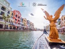 Bán shophouse mặt sông Venice Grand World Phú Quốc, tầm view triệu đô,giá 16,2tỷ