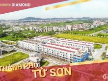 Bán Shophouse 75m2, Xây 4 tầng,Centa Diamond,Từ Sơn, Sổ Hồng Lâu Dài, Giá 3,2 tỷ