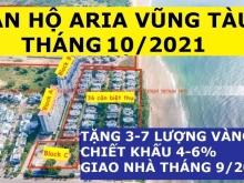 Aria Vũng Tàu Chiết khấu 500 Triệu, Căn 2PN 116m2, 3PN 160m2, Giá 4.5 Tỷ, Tầng C