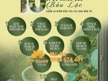 Bán 1,8 ha đất view hồ mặt đường Lý Thái Tổ thôn 13 xã Dambri, TP Bảo Lộc, Lâm Đ