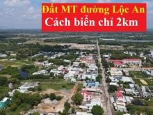 Đất MT đường Võ Thị Sáu. Gần chợ Lộc An. Mở bán GDD1. Có Video thực tế.