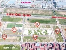 Đất nền Quốc Lộ 18 đối diện KCN Sam Sung Yên Phong Bắc Ninh
