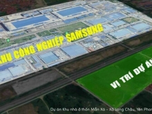 ĐẤT NỀN ĐỐI DIỆN SAM SUNG BẮC NINH , CẠNH BÊN QL 18 ,SỔ ĐỎ TRAO TAY : 0367522686
