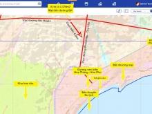 Lô mặt tiền đường liên Huyện 32m - Cách biển 4,5km - Giá 832 triệu/4379m2