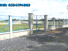 Đất làm nhà vườn xã Trung Lập Hạ ,Củ Chi 1,9tr/m2,dt 20x50,SHR