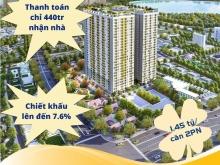 2PN 2WC Bcons Plaza giá 1 tỷ 475, thanh toán 429tr nhận nhà.