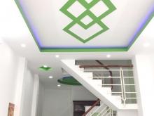 Nhà mới, đẹp, nở hậu, 2 lầu, hẻm 232 Hưng Phú phường 9 Quận 8