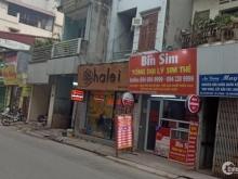 Mặt phố Thụy Khuê Nguyễn Đình Thi lô góc 60 m2, mặt tiền 4,3m.Giá 14.3 tỷ.
