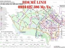Bán đất biệt thự KĐT Quang Minh - Long việt - Mê Linh - Hà Nội