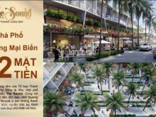 Nhà phố thương mại biển 2 mặt tiền sổ hồng từng căn - NH hỗ trợ lãi suất 0%