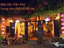 Nhà Phố cổ Hội An, mặt tiền đường Trần Phú, ngay trung tâm Phố cổ.