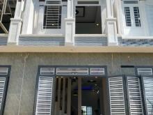 Bán nhà mới xây gần Cầu Lớn Hóc Môn, 80m2 giá 830tr sổ hồng bao sang tên