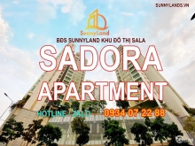 Cho thuê căn hộ Sarimi Sadora SunnyLand Sala Đại Quang Minh.