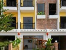 Bảng giá mới nhất, nhà phố 3 tầng khu Nam Hội An city, chiết khấu 7%, view sông