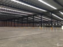 Cho thuê 2600m2, 5000m2 kho Tại KCN Vsip. PCCC tự động có cửa dock, an ninh 24/7