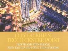Căn hộ chung cư cao cấp Tecco Centrt Ponit Thanh Hóa