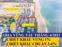 Aria Vũng Tàu, Căn 2PN 91m2-160m2, Full Nội Thất, Giá 37 tr/m2, Vay 70%