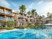 Nhà phố vườn cạnh biển, hồ bơi riêng duy nhất dành cho 36 chủ nhân, TT 18 tháng