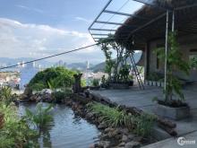 Bán biệt thự đồi 3 mặt tiền View trực diện Biển Nha Trang. Sổ Đỏ Hoàn Công.