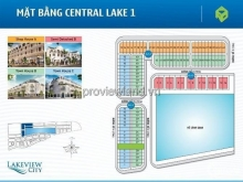 Bán Shophouse lakeview City Song Hành, 355m2, 4 lầu, giá 15 tỷ