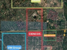 Đất Khu đô thị Cienco 5 Mê Linh 100m²(5x20)