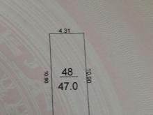 Cần Bán Gấp 47m2 Đất Thổ Cư Sau Chợ Ven Đê Thôn Lực Canh - Xuân Canh - Đông Anh