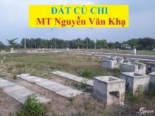 Đất mặt tiền đường Nguyễn Văn Khạ. SHR, XD tự do.