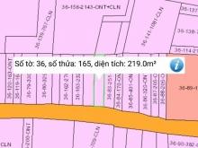 MT đường Giồng Sắn xã Phú Đông 219 m2 có 100 m2 thổ cư