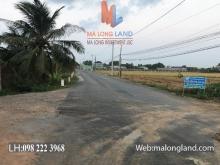 Chính chủ gửi bán đất ở Long An, mặt tiền đường Quách Văn Tuấn.