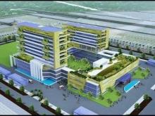 Bán lô đất đẹp ngay cổng chính bệnh viện quốc tế Sao Mai.