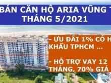 Aria Căn 3PN-160m2, View Biển, Giá 6.5 tỷ/Căn, Vay 70%, Giao Full Nội Thất, Chiế