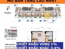 Tầng Cao 12A– Căn 04,05,06, View Biển, Giá 4.4 tỷ, Chiết Khấu 8%,Vay 70%