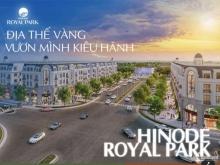 Bán Shophouse 2 mặt tiền Hinode Royal Park. Giá chỉ từ 65tr/m2, CK tới 8% GT
