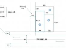 Bán mặt tiền Pasteur Quận 3 9x30m2, vị trí ưu việt!