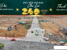 Đất nền cổng Sân bay Chu Lai. Chỉ 240 triệu, hỗ trợ trả góp 12 tháng