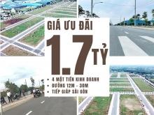 Đất nền cách chợ Bình Chánh 3km chỉ 17tr/m2,SHR xây dựng tự do Sài Gòn Fortune