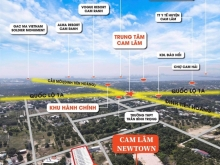 Chỉ từ 500Tr đã có thể sở hữu đất thổ cư Cam Lam giá rẻ gần TTHC Huyện