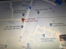 Bán đất hẻm xe hơi đường Nguyễn Thái Bình, sát bên Chi Cục Thuế Cần Giuộc