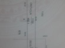 Đất H.gò dầu (Dt 8x60=480 Tc-100m2) Gần KCN phước đông