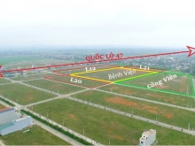 Đất nền đã có sổ đỏ bám QL47, Nhận bảng giá chuẩn.