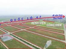 Bán đất vị trí đắc địa khu bệnh viện đô thị Sao Mai Triệu Sơn, Thanh Hoá