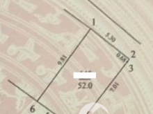 Bán Đất Phương Canh-Nam Từ Liêm 52M mặt tiền 5,3m gần ô tô nhỉnh 2tỷ