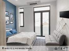 Cho thuê căn hộ có ban công đủ nội thất Nhiêu Tứ - Phú Nhuận
