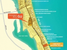 Đất nền Ven biển Golden Bay 602 - Cam Ranh, chỉ 16 triệu/ m2, CĐT Hưng Thịnh