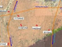 bán đất Hồng Thái, huyện bắc bình,DT: 9835m2 giá 100.000/m2 gần 2 liên huyện.