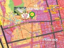 Chú ý ! Chỉ còn đúng 1 lô đất sổ đỏ Cam Lâm giá tốt 967Triệu, NH hỗ trợ vay 50%