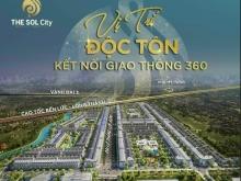 """""""HOT""""chỉ cần 600 triệu sở hữu ngay lô đất đẹp ở the sol city-ngay chợ hưng long"""