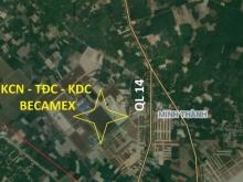 Đất full thổ, Cách QL14,1.2Km, Trường cấp 123 Nguyễn Bỉnh Khiêm