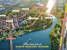 Lô mặt tiền đường lớn 10.5m dự án Indochina Riverside Complex